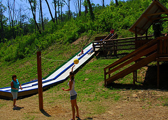 WU Parkside Resort Slide